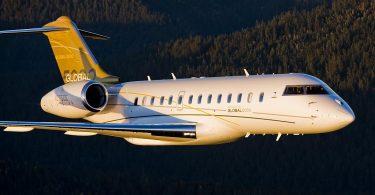 Бизнес-джет самолёт Bombardier BD-700-1A11 Global 5000