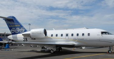 Бизнес-джет самолёт Bombardier Challenger Private Jet 605 от Bombardier Aerospace