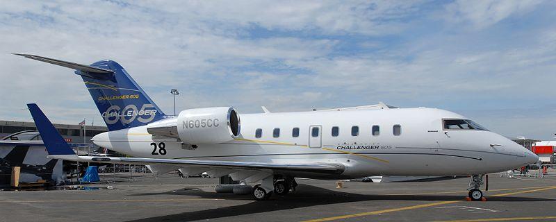 Комфортабельный бизнес-джет самолёт Bombardier Challenger Private Jet 605