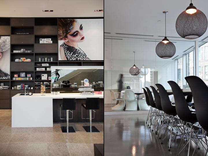 Косметический зал международной школы стилистов Blanche Macdonald в Канаде