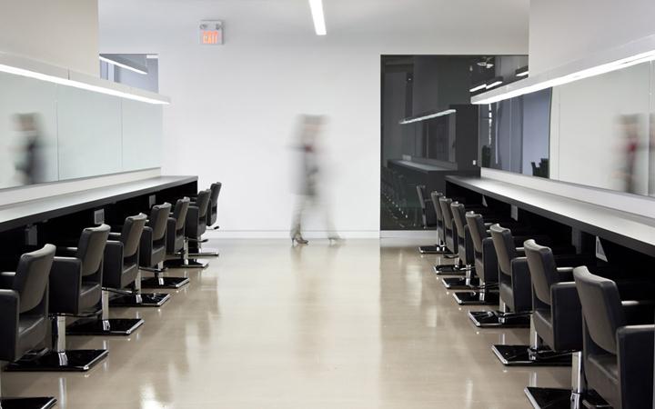 Сногсшибательный дизайн международной школы стилистов Blanche Macdonald в Канаде