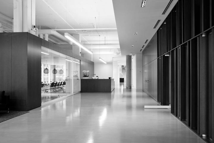 Красивый дизайн международной школы стилистов Blanche Macdonald в Канаде