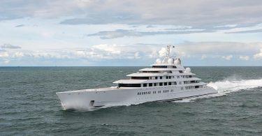 Дизайн роскошной яхты «Azzam»