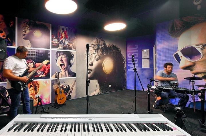 Дизайн музыкальной студии