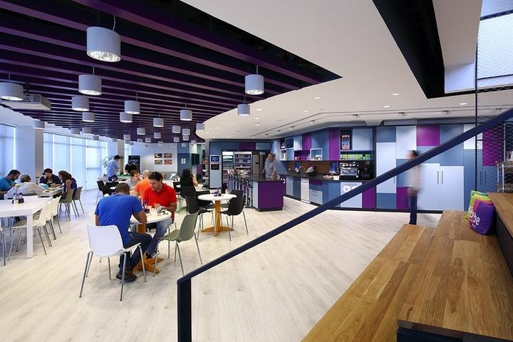 Дизайн столовой для сотрудников