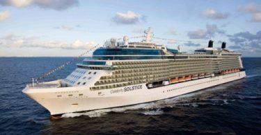 Самый большой круизный лайнер - фото Celebrity Solstice