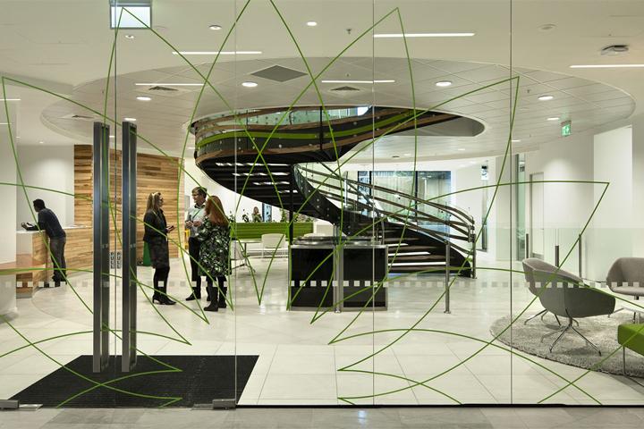 Современный дизайн интерьера главного офиса компании BP в Новой Зеландии