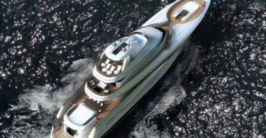 Оригинальный проект быстроходной яхты Gran Marlin