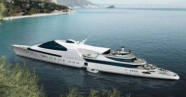 Быстроходная яхта, вдохновлённая боевым фрегатом