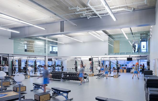 Новый спортивный центр колумбийского университета