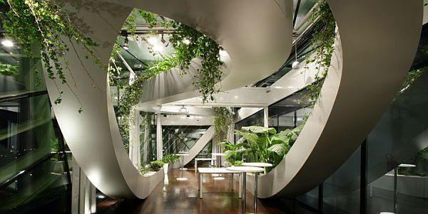 Дизайн лучших офисов: Словенская Торгово-Промышленная Палата