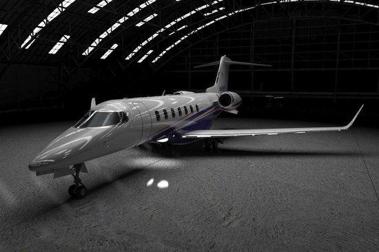 Частный самолёт бизнес-класса Learjet 85 от канадской компании