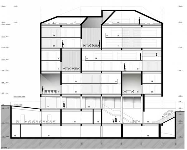 План-схема национальной библиотеки