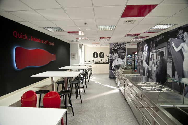 офис компании Coca-Cola от
