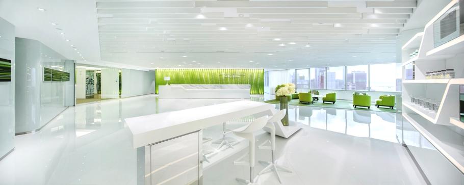 Интерьер медицинского центра Neo Derm, Гонконг