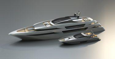 Концепт новой яхты