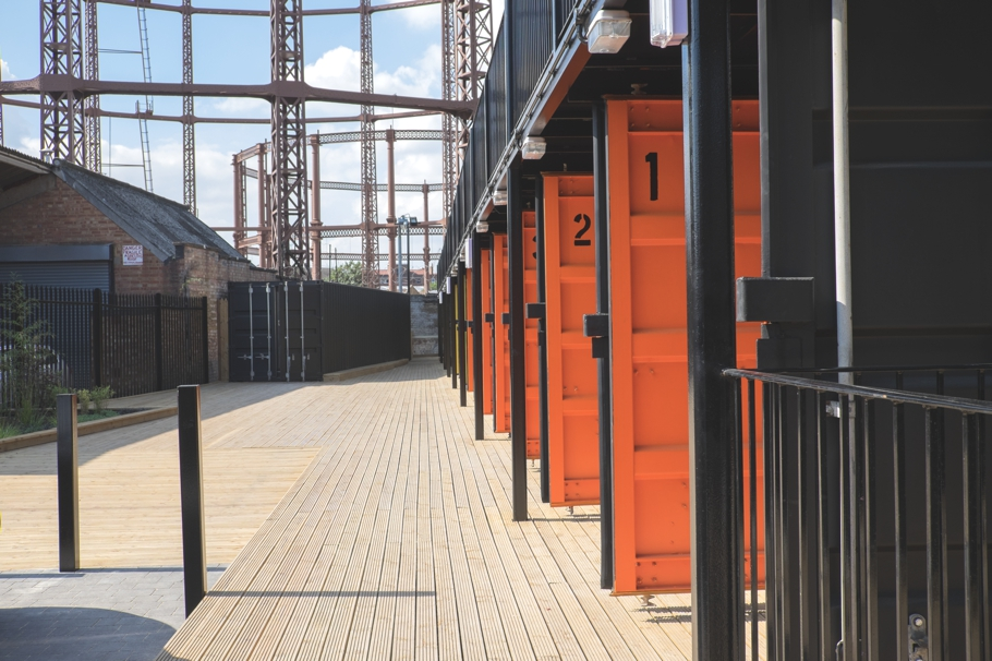Нумерация на дверях контейнера