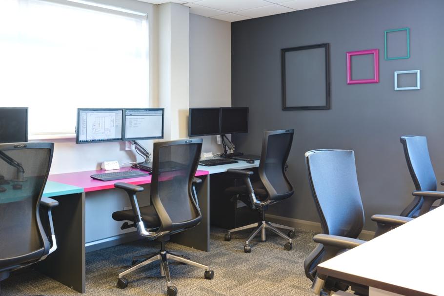 Дизайн интерьера современного офиса