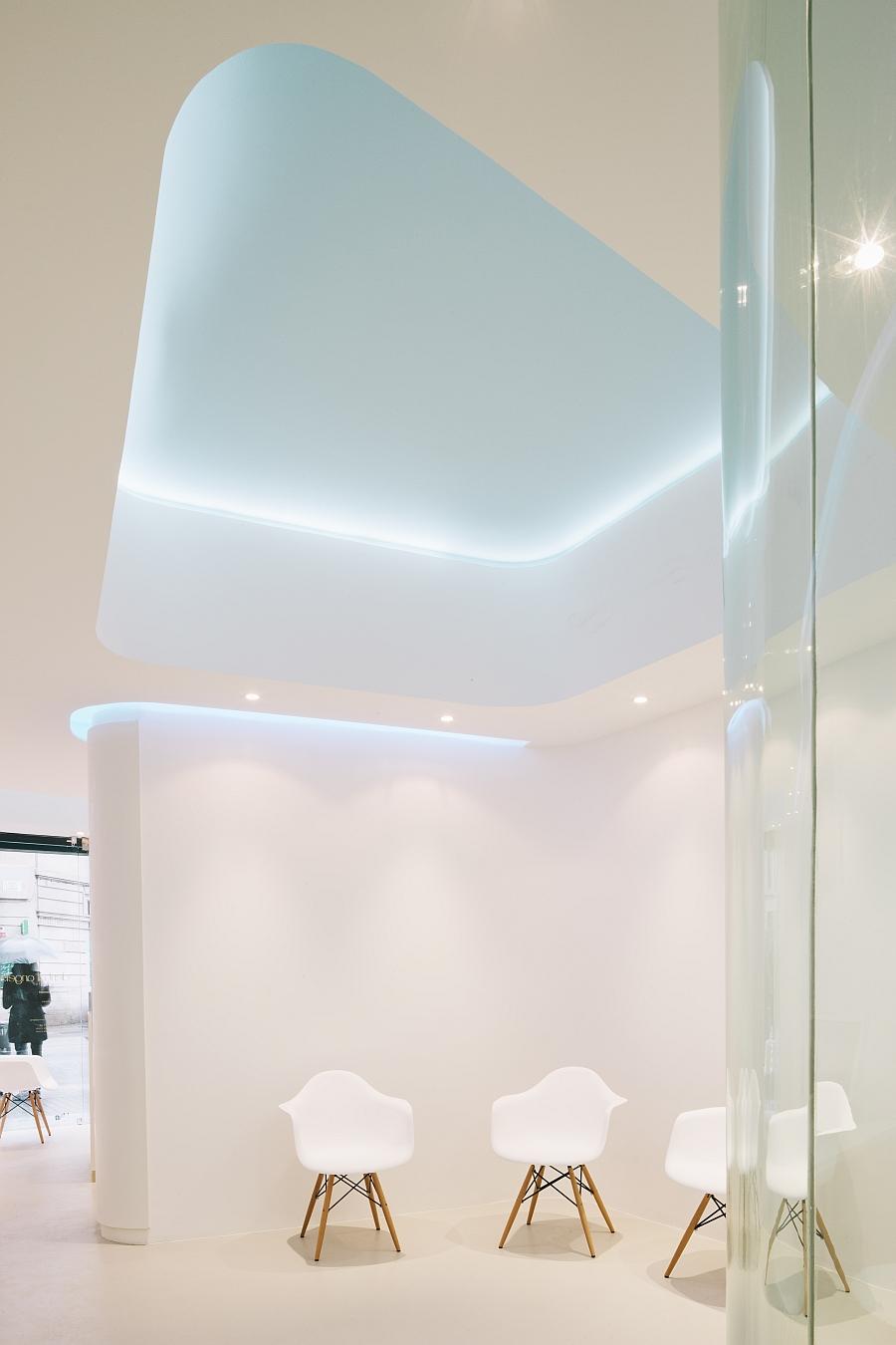 Дизайн интерьера соматологии в Барселоне