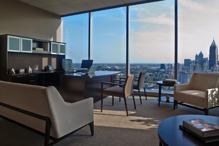 Интерьер офиса в Атланте