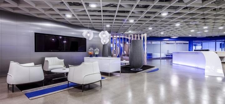 Дизайн главного офиса компании Cornerstone OnDemand, Лос-Анджелес