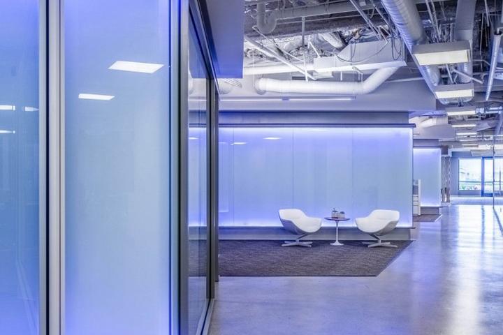 Дизайн интерьера главного офиса Cornerstone OnDemand