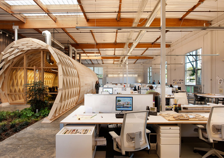 office design to sustain creativity