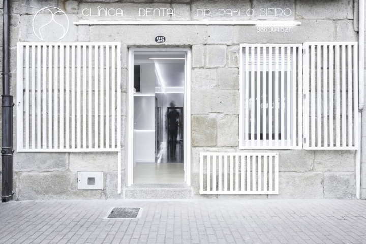 Дизайн фасада стоматологической клиники