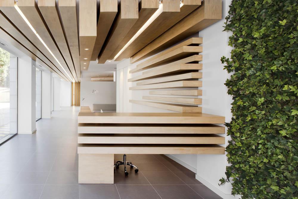 Интерьер стоматологической клиникиа Barcelona