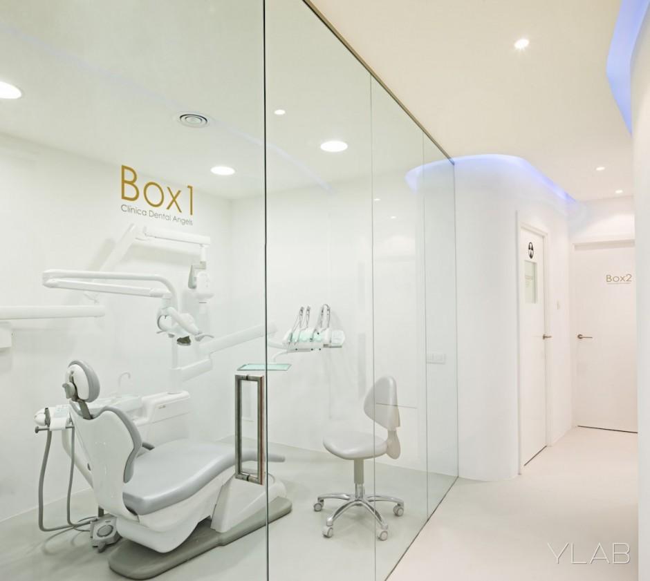 Интерьер стоматологии Angels