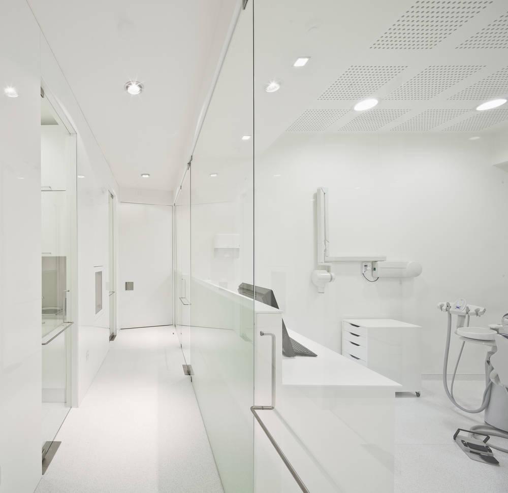 Интерьер стоматологической клиники в Лиссабоне