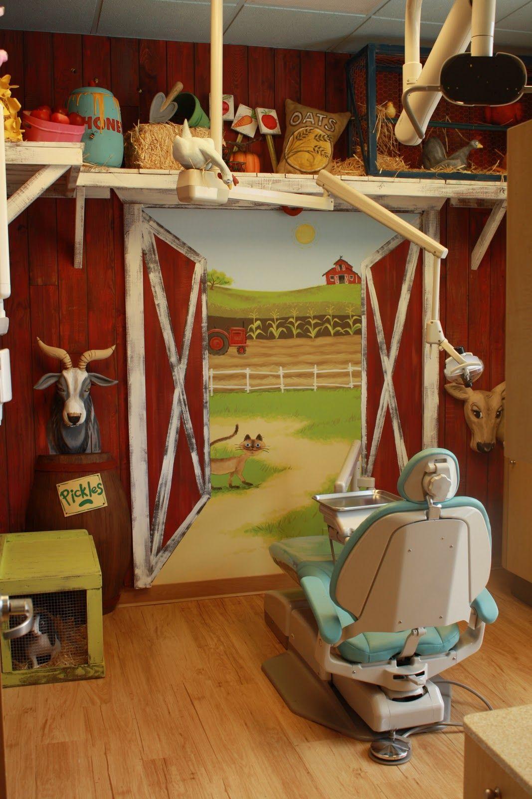 Интерьер детского стоматологического кабинета