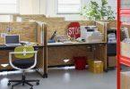 Деревянная мебель для офиса с настраиваемым столом