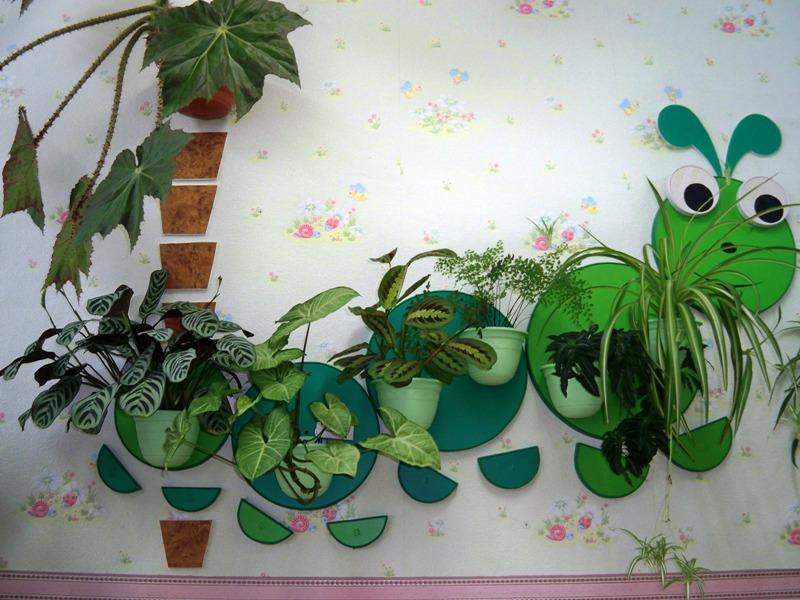 Декор стены в детском саду