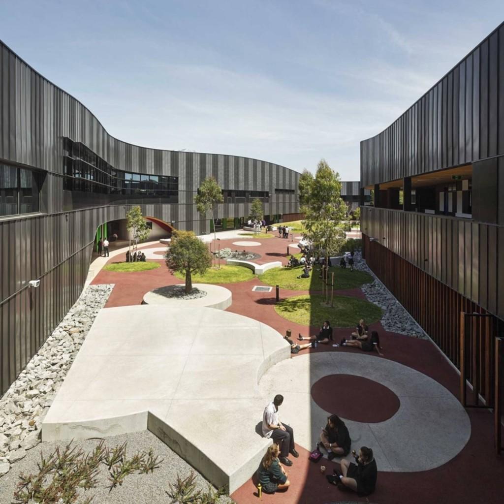 Дизайн учебного здания для старшеклассников
