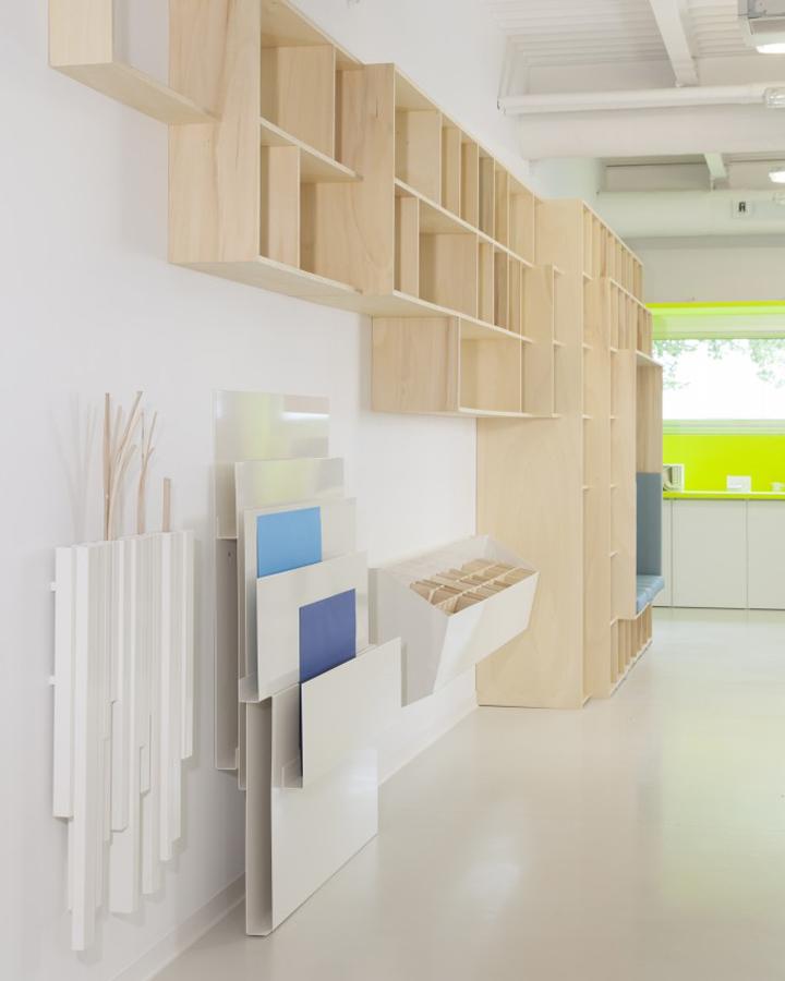 Интерьер лаборатории развития во Франции