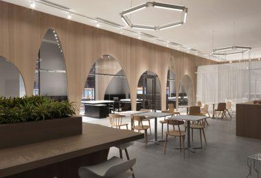 Дизайн интерьера современного офиса H&M
