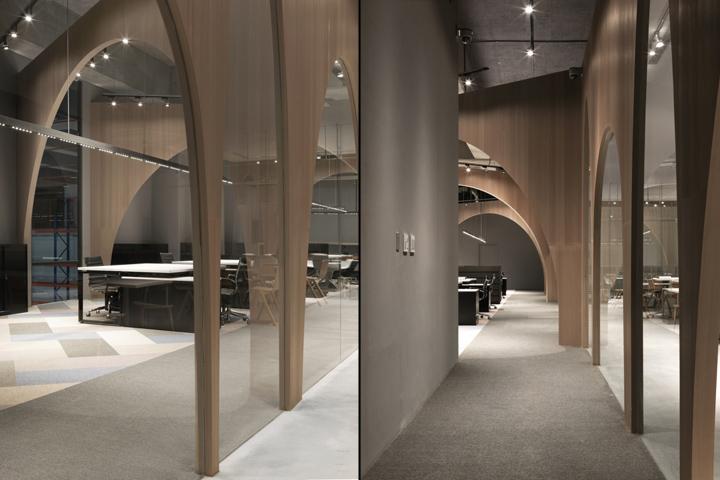 Дизайн интерьера современного офиса от J.C. Architecture - фото 6