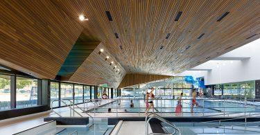 Дизайн аквацентра в Канаде
