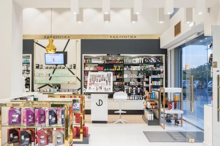 Дизайн аптеки: Fanouraki Aikaterini