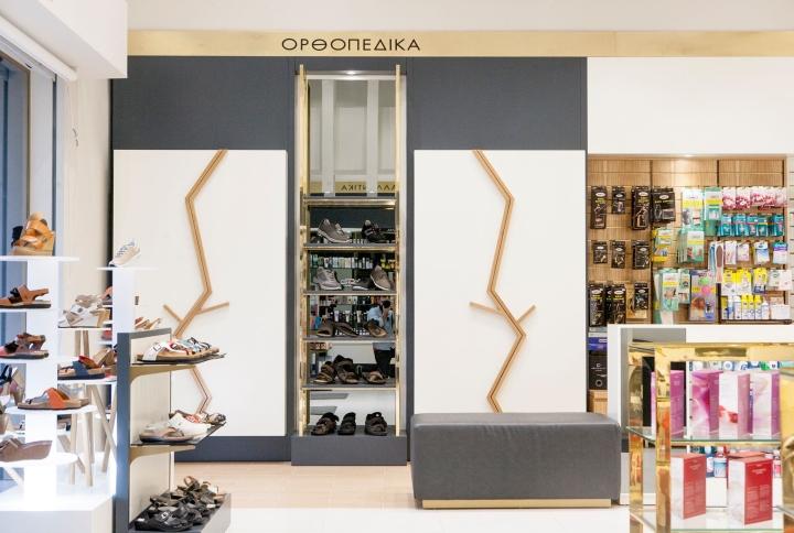 Дизайн аптеки от Artico