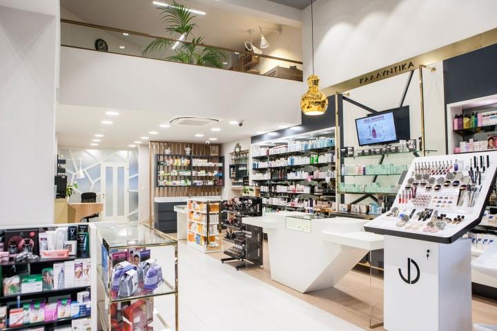 Дизайн аптеки: первый этаж