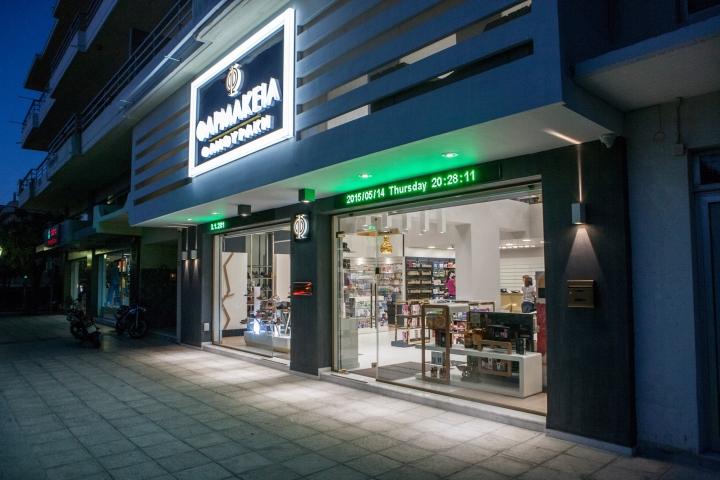Дизайн аптеки: фасад здания