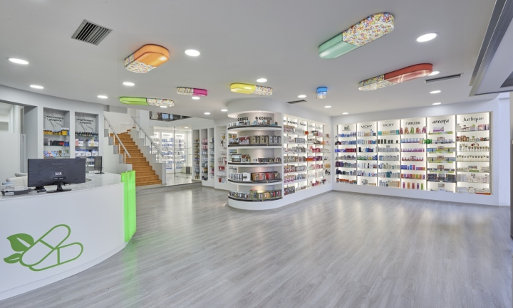 Дизайн аптеки: внутренняя планировка