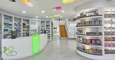 Дизайн аптеки от Mazis Marios