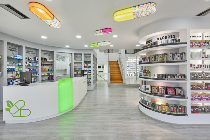 Дизайн аптеки в Греции
