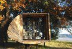 Дизайн деревянной скамейки для парков