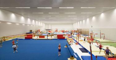 Дизайн детского спортивного клуба в Исландии