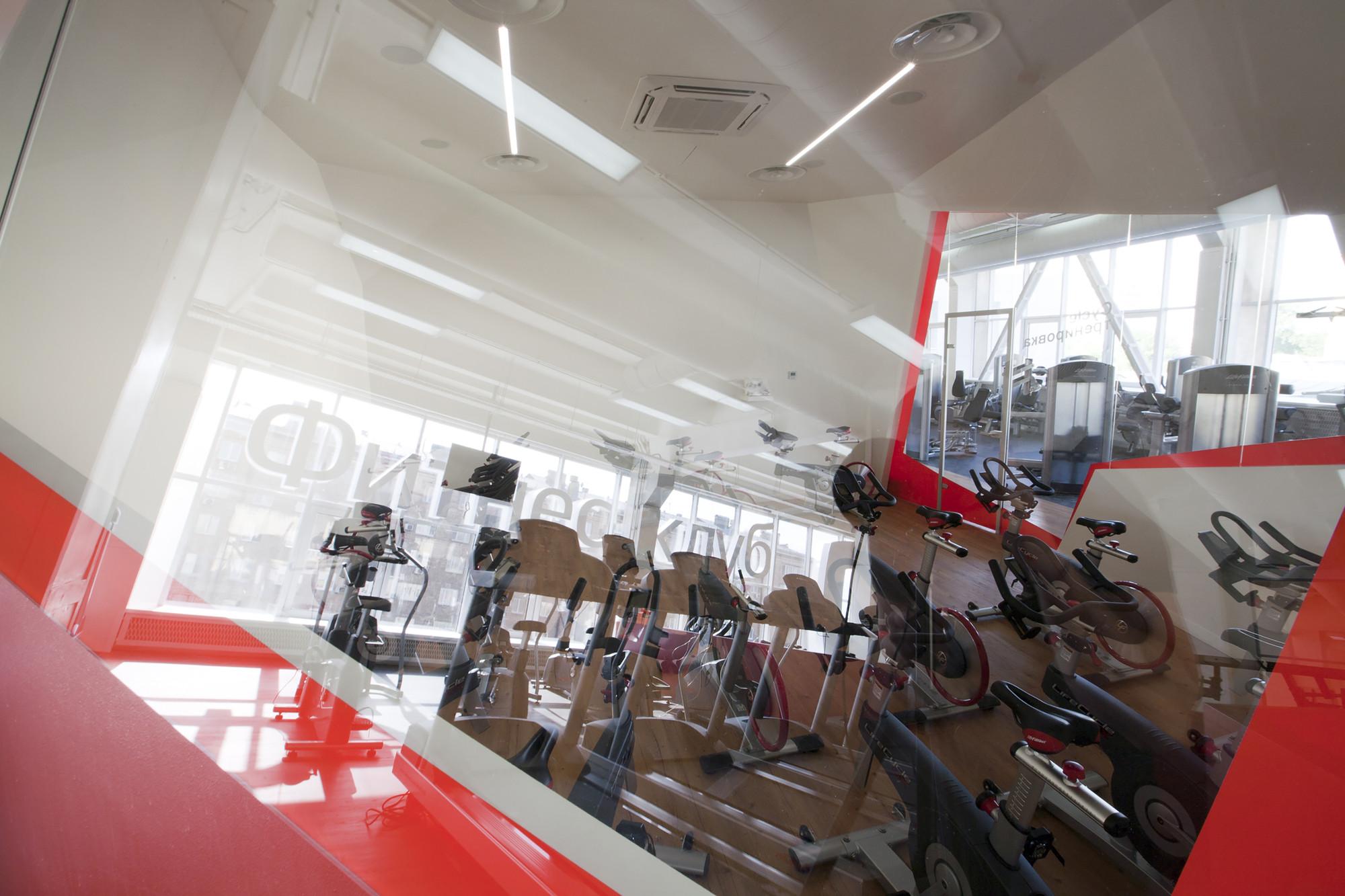 Дизайн фитнес-клуба: современные тренажёры