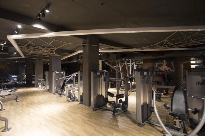 Дизайн фитнес клуба: оформление света в зале
